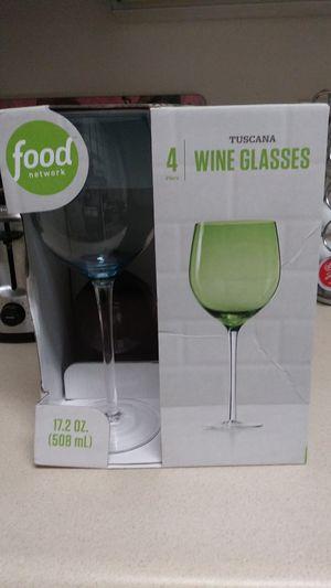 Tuscan wine glasses for Sale in Lebanon, IN