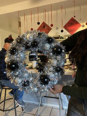 Handmade team wreaths $45 will need a 1 week turnaround. for Sale in Ontario, CA