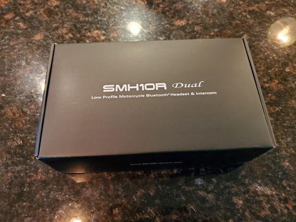 Sena SMH10R Low Profile Motorcycle Bluetooth Headset