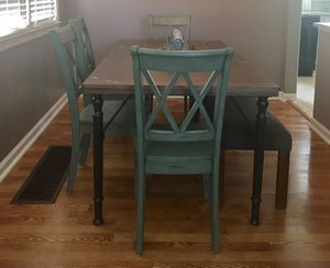 Ashley Furniture Kitchen table/4 chairs + bench for Sale in Lexington, KY