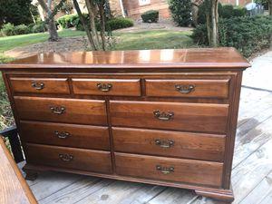 Beautiful Solid Wood Dresser for Sale in Fairburn, GA