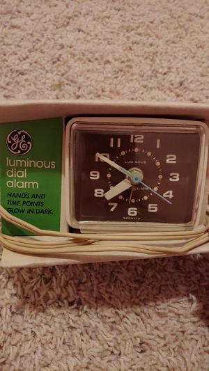 GE electric alarm clock-antique for Sale in Longview, WA