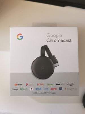 Google Chromecast 3rd Gen for Sale in Los Angeles, CA