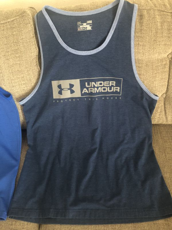2/$25 Under Armour Mens Large Sleeveless tees