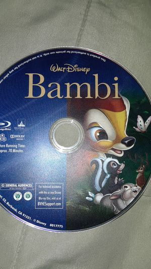 Bambi. Blue ray disc for Sale in Las Vegas, NV