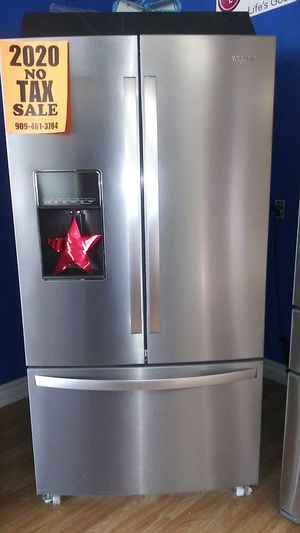 Whirlpool French Door Refrigerator ⭐⭐New year new appliance in payments with 39 down no credit needed delivery available🚚 for Sale in Phillips Ranch, CA