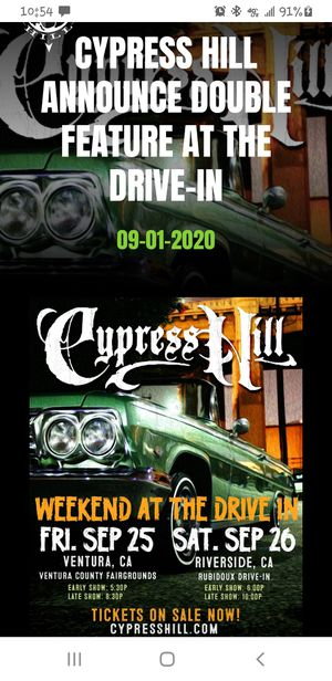 Cypress Hill live tonight for Sale in Lake Forest, CA