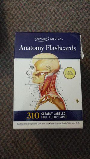 Kaplan Medical Anatomy Flashcards for Sale in San Luis Obispo, CA