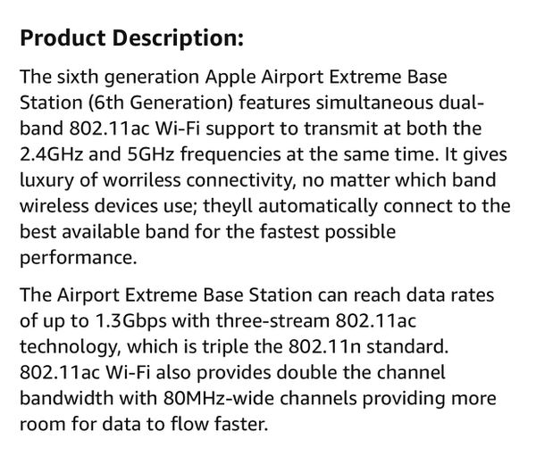 Three — Apple AirPort Extreme (6th Gen) Bass Stations