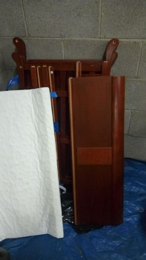 Wooden baby changing table for Sale in Pittsburgh, PA