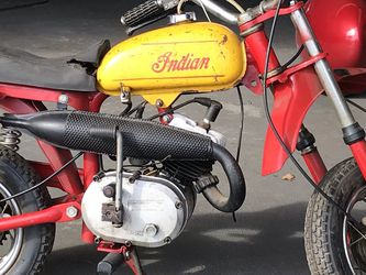 1970's Indian MM5B Mini Mini bike 50cc (Bambino, Italijet, MM5A) for Sale in Los Angeles,  CA