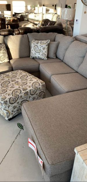 ☑ Special for Black Friday ‼ Renchen Pewter RAF Sectional 27 for Sale in Jessup, MD