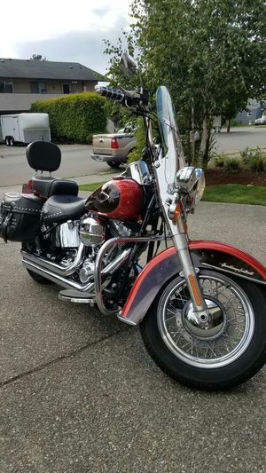 2013 Harley Davidson Heritage Softail. Like New! Only 1,800 Miles. Clean Title In Hand, Stage 1 Vance & Hines Installed.. for Sale in Lynnwood, WA