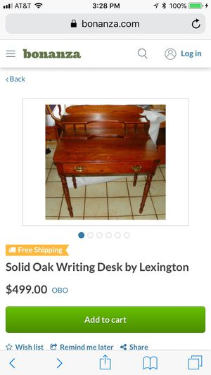 Lexington Pine Desk for Sale in Belleville, IL
