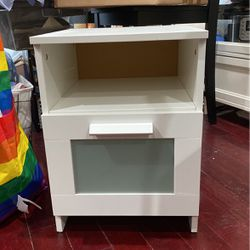 Free White ikea Nightstand for Sale in New York,  NY