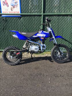 Brand New SSR 125cc Pit Bike Dirt Bike Motorcycle for Sale in University Place,  WA