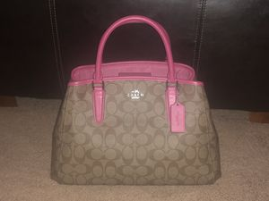 Pink/Brown Coach Bag for Sale in Peoria, IL