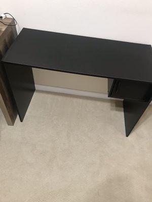 Black study desk for Sale in Hayward, CA