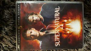 Supernatural complete 5th season for Sale in Mountlake Terrace, WA