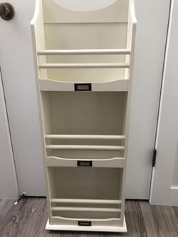 Furniture: storage Organizational mail/ papers sorter or magazine rack for Sale in University Place,  WA