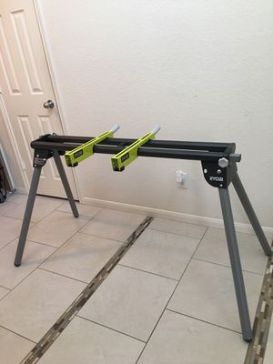 NEW RYOBI UNIVERSAL MITER SAW QUICKSTAND for Sale in Tomball, TX
