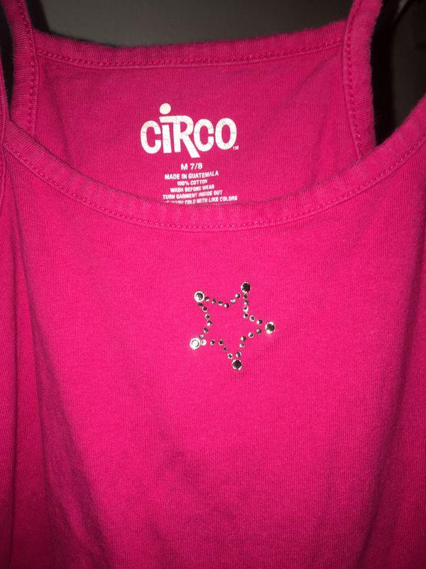 Circo pink tank top