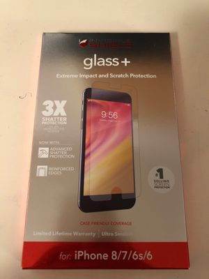 Brand new Screen protector for iPhone 8/7/6s/6 for Sale in Gordo, AL