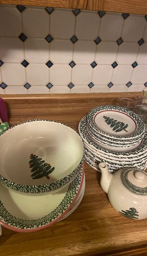 Christmas dish set for Sale in Peoria, IL