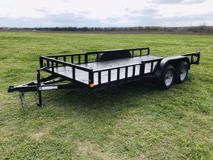 16x82 Ramos in Rail Utility Trailer for Sale in Austin, TX