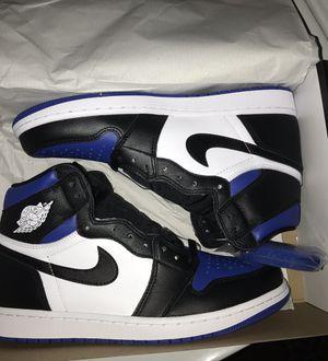 Jordan 1 Retro High Royal Toe for Sale in Los Alamitos, CA