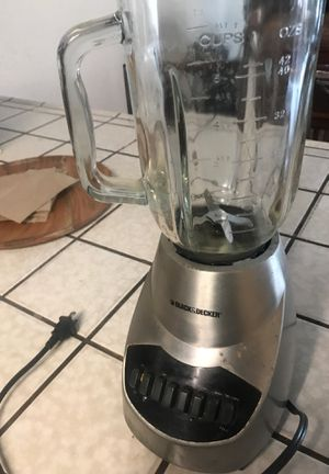 Blender $10.00 works no lid for Sale in Modesto, CA