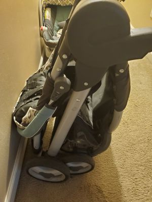 Infant car seat with matching stroller for Sale in Greensboro, NC