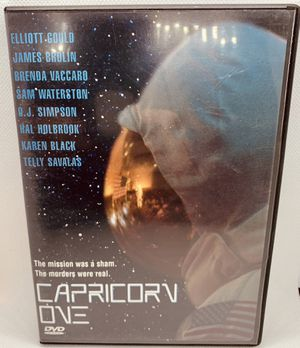 CAPRICORN ONE DVD 1978 film OJ Simpson NASA Mars Mission HTF OOP Movie for Sale in Puyallup, WA