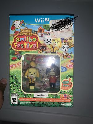 Animal Crossing Amiibo Festival game for Sale in South San Francisco, CA