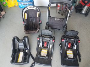 Baby Stroller / 3 car seat mounts for Sale in West Richland, WA