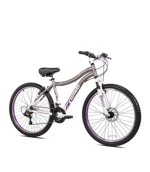 """Genesis 26"""" Whirlwind Women's Mountain Bike with Lightweight Aluminum Frame, Gray for Sale in Long Beach, CA"""