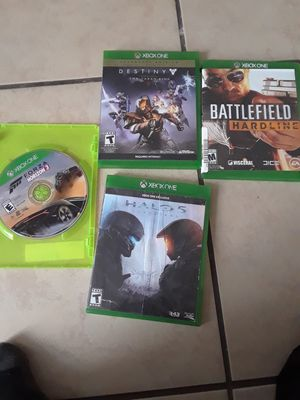 Xbox one plus games for sale for Sale in Kissimmee, FL