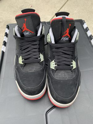 Jordan Bred 4's Size 8.5 Condition 8/10 $180 for Sale in Los Angeles, CA