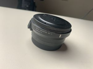 Sigma MC-11 Song Canon EF Adapter for Sale in Frisco, TX