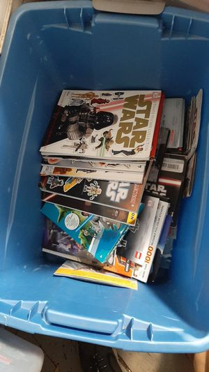 100 Star Wars books lot ill make up lot for Sale in Whitinsville, MA