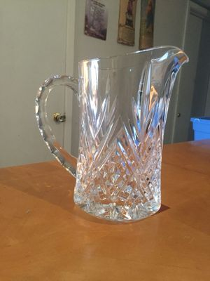 Crystal Pitcher for Sale in North Las Vegas, NV
