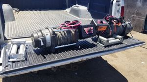 Warn 17801 M12000 Winch 12000lb pull w/125ft Cable for Sale in San Leandro, CA