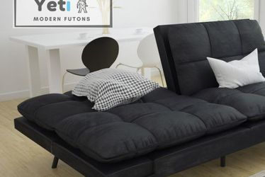 Cynical Black Modern Futon (FREE DELIVERY) for Sale in Chicago,  IL