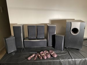Onkyo 550 series speakers with subwoofer for Sale in Bowie, MD