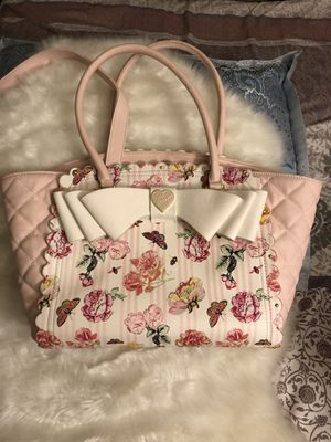 Betsey Johnson Handbag large for Sale in Manassas, VA
