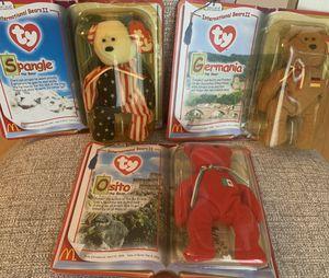 TEENIE BEANIE BABIES (INTERNATIONAL BEARS II) for Sale in Greenville, SC