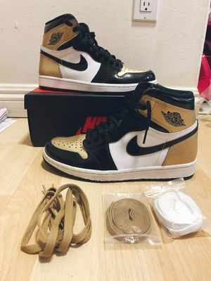 Air Jordan 1 Retro High NRG Patent Gold Toe US8 for Sale in West Covina, CA
