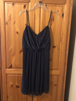 David's bridal short, Navy bridesmaid dress. Size 10 for Sale in Winter Haven, FL