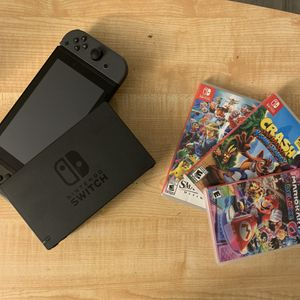 Nintendo Switch w/ Games for Sale in Gresham, OR