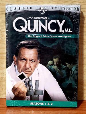 Quincy, M.E. - Seasons 1 + 2 DVD 3 - Disc Set 2005 Brand New Sealed for Sale in Harrisonburg, VA